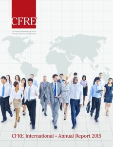 2015 CFRE Annual Report_cover image