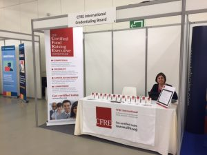 CFRE booth at CASE Europe - 2016